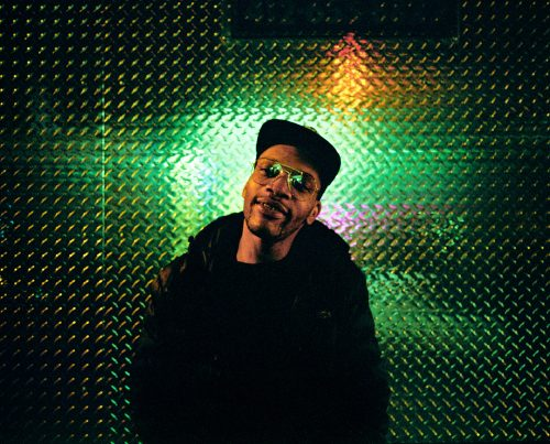 Lloyd Bradley, New York, NY, rapper, musician, music, green, city, color, film, 6x7, kodak, travel, portrait