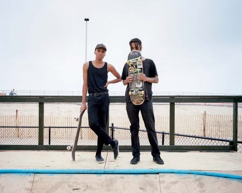 rockaway beach, brooklyn, new york, nyc, dudes, skateboarding, bowl, 6x7, film, color, kodak, beach, ocean, sand, america, USA, travel