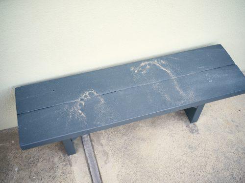 Contemporary Photography, Fine Art Photography, ©Eric Thompson , Ventura, California, Feet, sand, bench